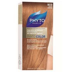 Phyto Phytocolor 8CD Biondo Ramato Dorato Colorazione capelli lunga durata