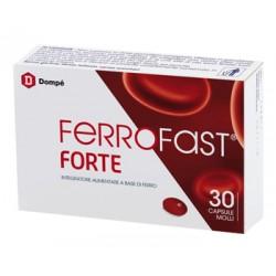 Dompe' Farmaceutici Ferrofast Forte 30 Capsule Molli