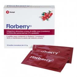 Dompe' Farmaceutici Florberry 10 Bustine
