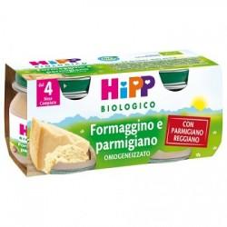 Hipp Italia Hipp Bio Hipp Bio Omogeneizzato Formaggino Ai Tre Forma G Gi 2x80 G
