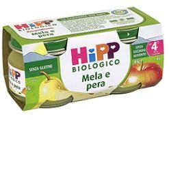Hipp Italia Hipp Bio Omogeneizzato Mela Pera 100% 2x80 G