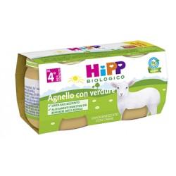 Hipp Italia Hipp Bio Hipp Bio Omogeneizzato A Gnello Con Verdure 2x80 G