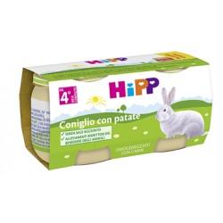 Hipp Italia Hipp Bio Hipp Bio Omogeneizzato Coniglio Con Patate 2x80 G