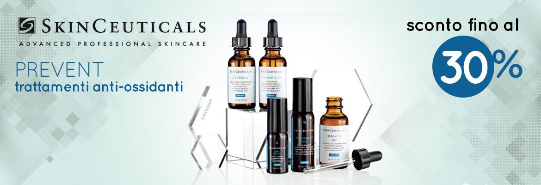 Tutti i trattamenti anti-ossidanti SkinCeuticals con sconti fino al 30%