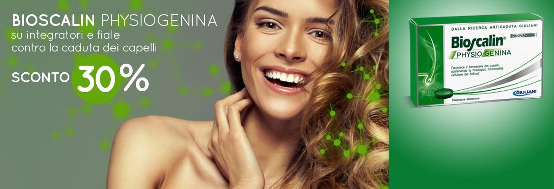 L'integratore anticaduta per capelli di Bioscalin al -35% di sconto!
