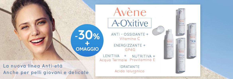 Scopri la nuova linea antietà Aoxitive di Avène con sconti fino al -36%